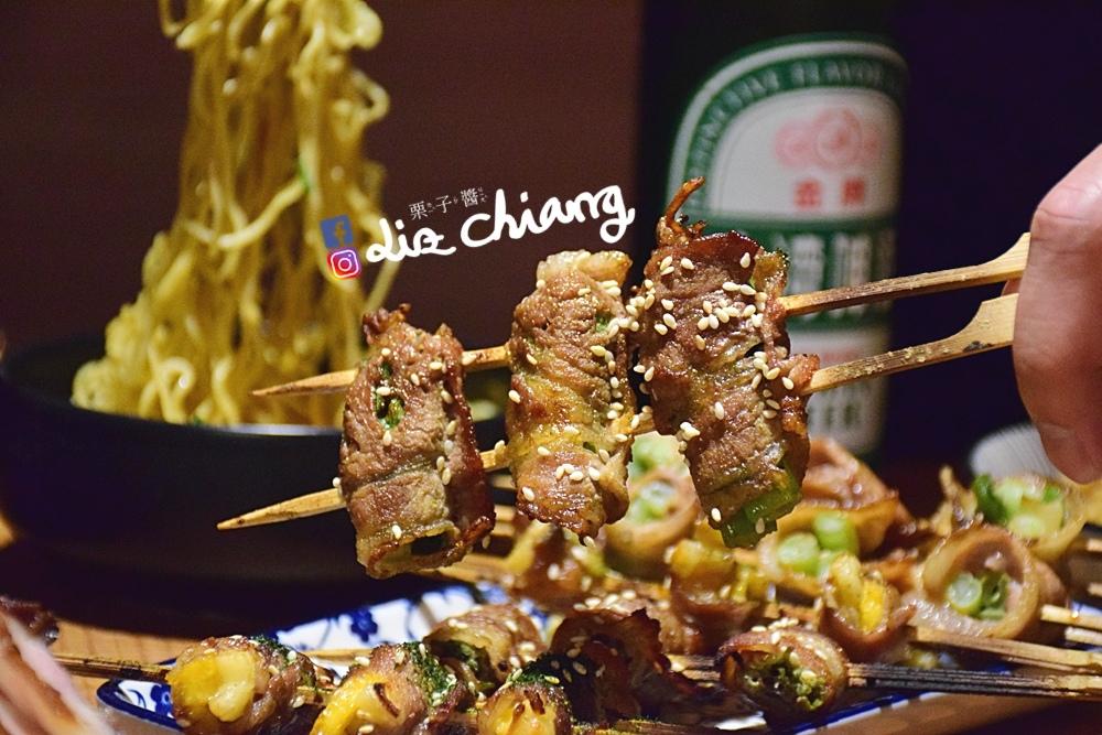 拿手串-串燒-消夜-台中美食DSC_0452Liz chiang 栗子醬.JPG