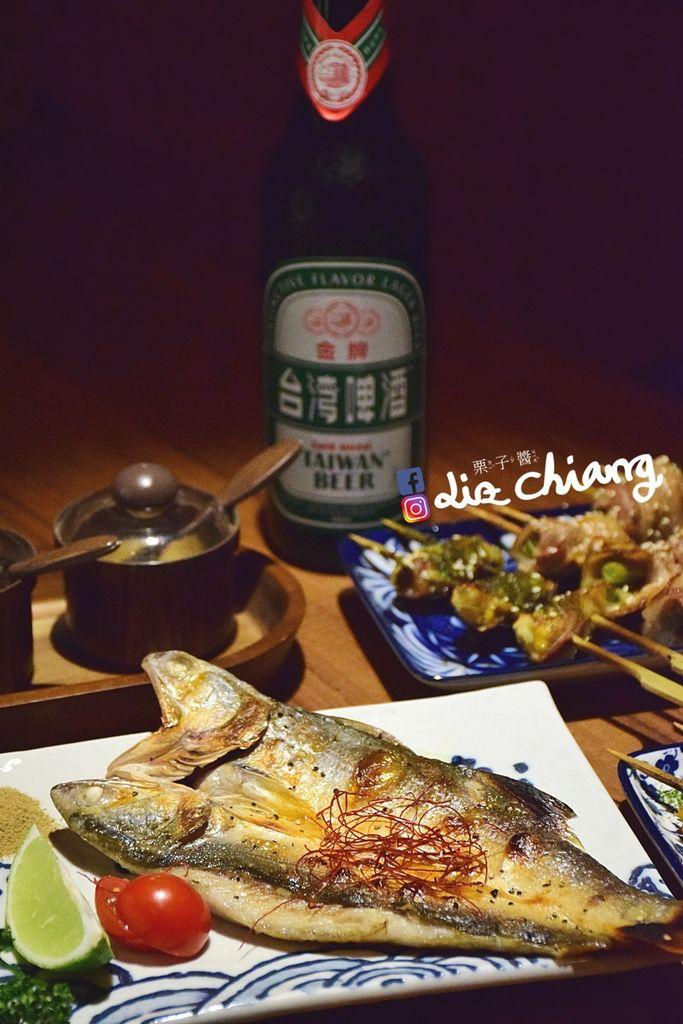 拿手串-串燒-消夜-台中美食DSC_0377Liz chiang 栗子醬.JPG