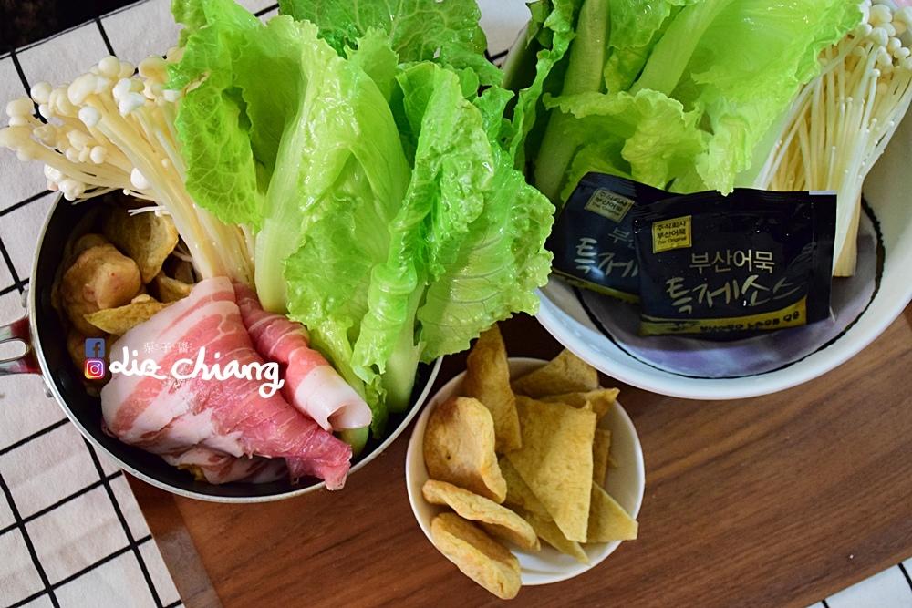 韓國進口食品-正安韓式料理-料理DSC_0931Liz chiang 栗子醬-台中美食部落客.JPG