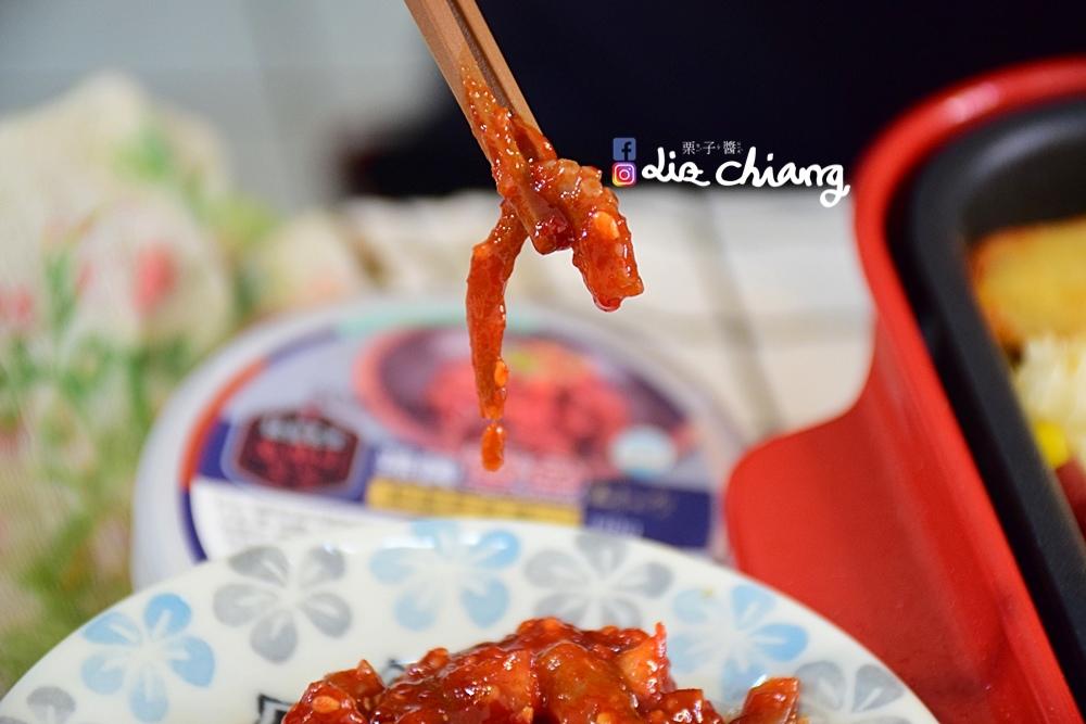 韓國進口食品-正安韓式料理-料理DSC_0514Liz chiang 栗子醬-台中美食部落客.JPG