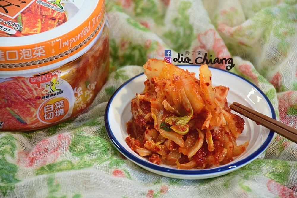 韓國進口食品-正安韓式料理-料理DSC_0465Liz chiang 栗子醬-台中美食部落客.JPG