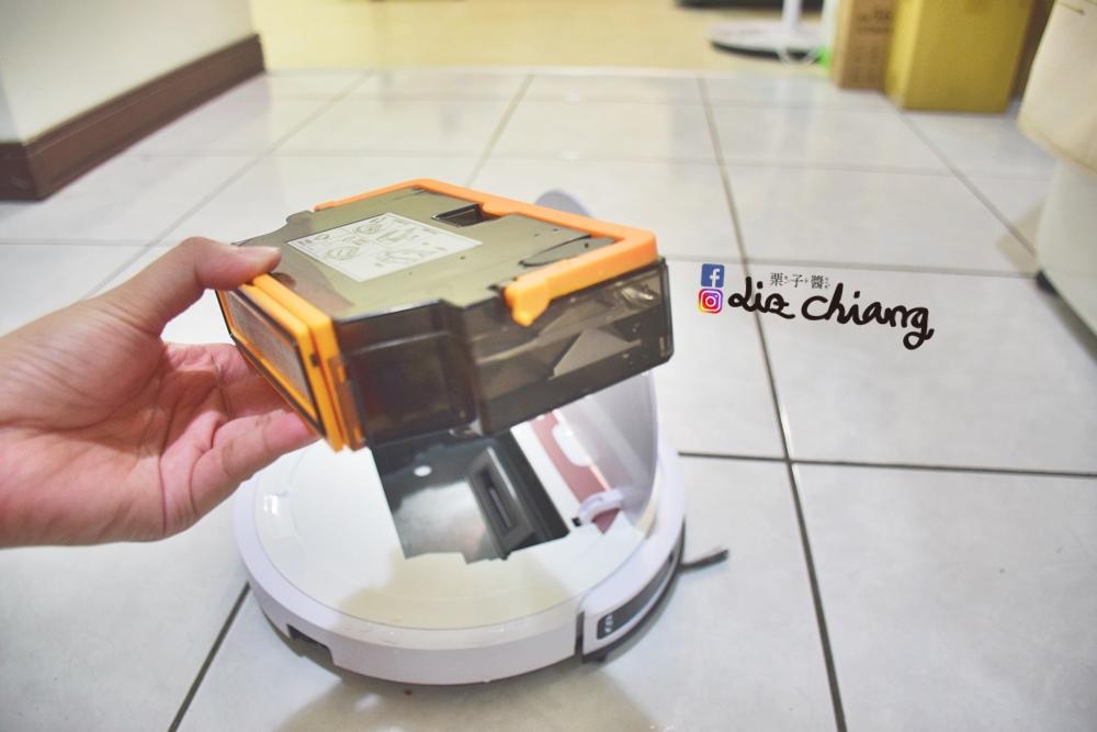 SANSUI山水WIFI智能超薄濕拖掃地機器人-SW-Q5+DSC_0016Liz chiang 栗子醬-美食部落客-料理部落客.JPG