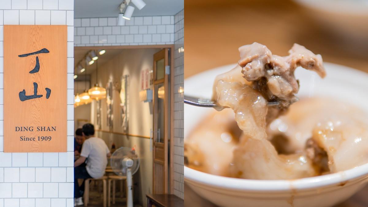 台中第二市場美食|丁山肉丸,百年老店翻新,復古風展現出文青氣息