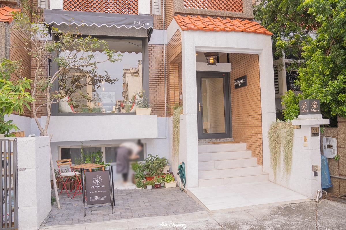 台中北區超隱密西餐、咖啡廳_大片採光窗景讓人心曠神怡_波櫟Polygon