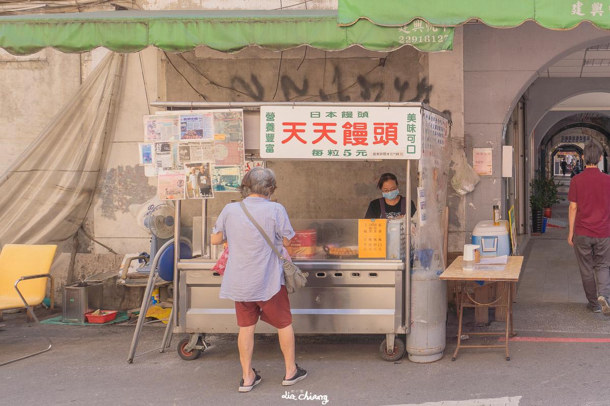 台中市中區古早味點心,紅豆炸饅頭5元就能吃到的點心,天天饅頭